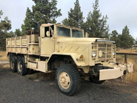 very solid 1983 AM General M925 6X6 truck for sale