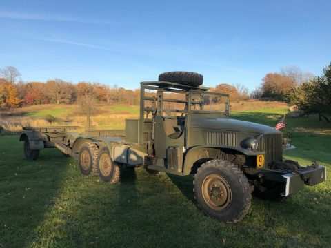 vintage 1945 GMC CCKW 353 Bolster Ponton Truck 6×6 truck for sale