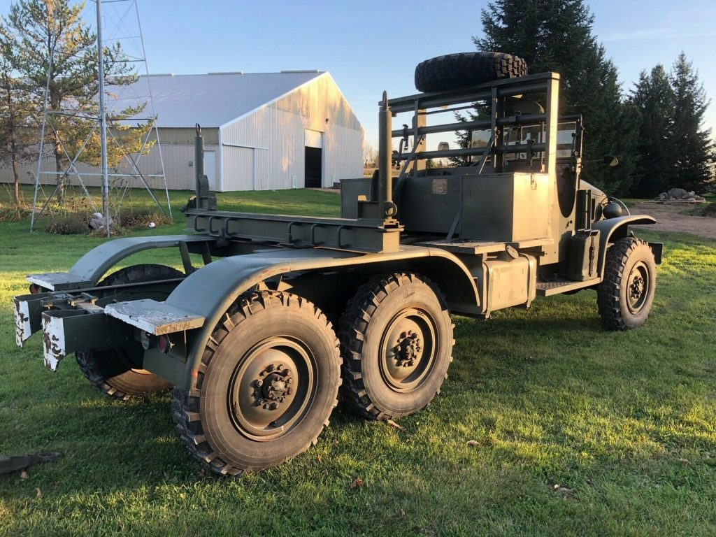 vintage 1945 GMC CCKW 353 Bolster Ponton Truck 6×6 truck