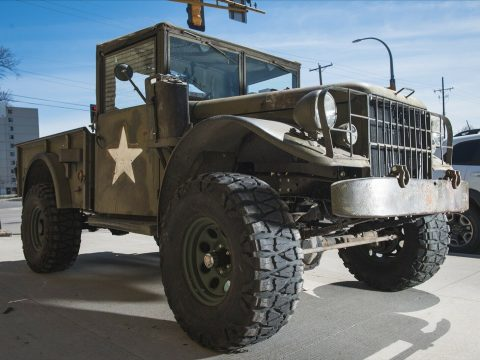 vintage 1955 Dodge M37 Power Wagon truck for sale