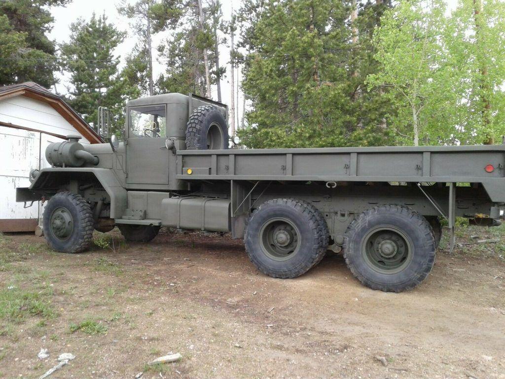 well serviced 1983 Kaiser M813 Military truck