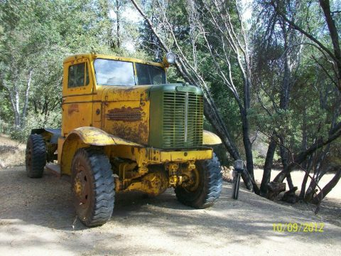 former snow blower 1959 Oshkosh W 1700 truck for sale