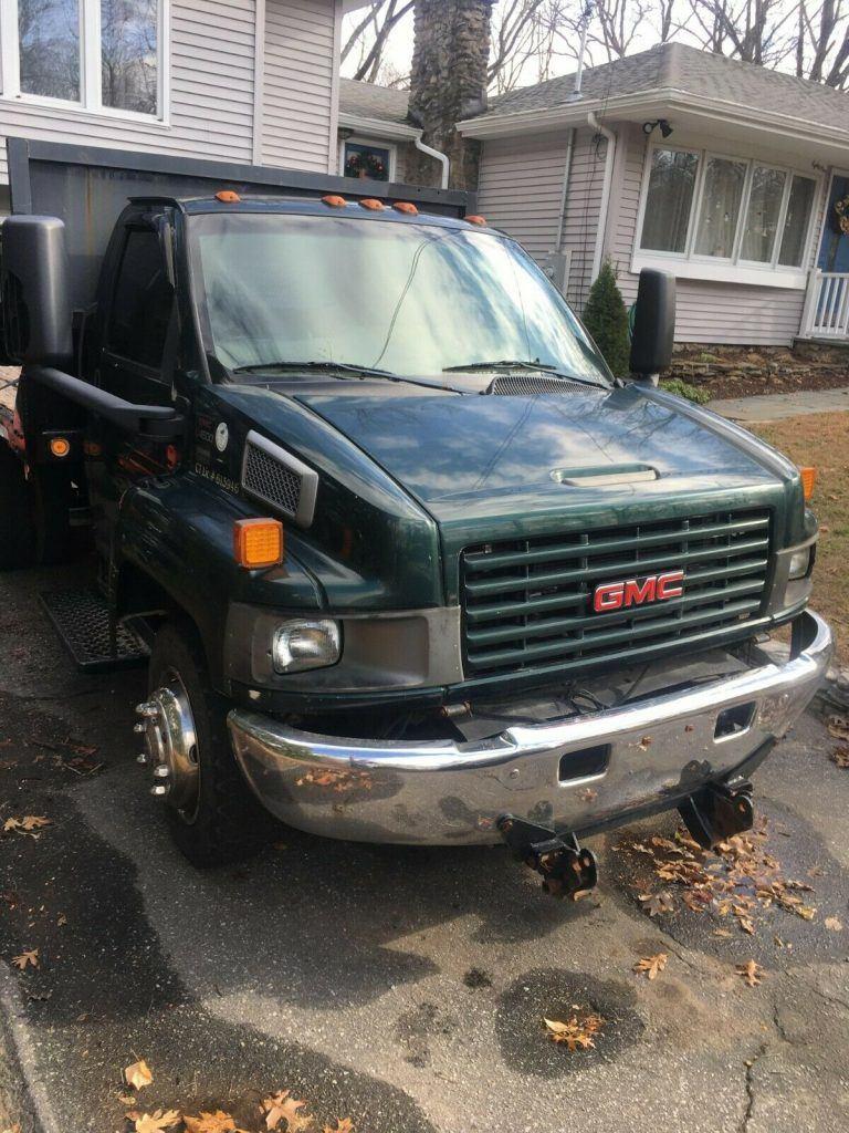 great running 2003 GMC c4500 truck