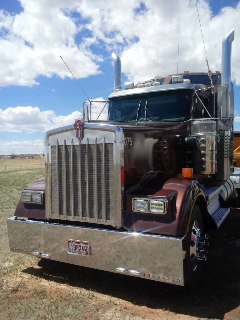 great shape 2009 Kenworth W900 truck