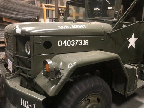 low miles 1971 AM General M35a2 2.5 Ton 6X6 military truck for sale