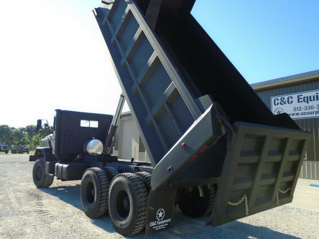 low miles 1986 AM General M942a1 dump Truck