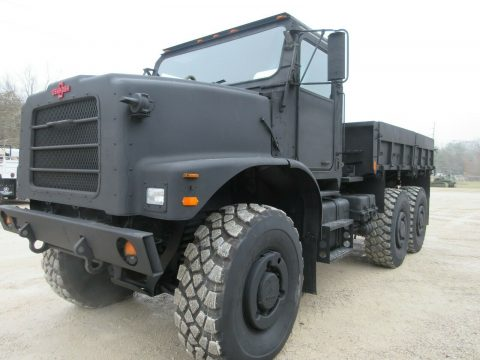clean 2001 Oshkosh MK23 7 Ton Cargo Truck for sale