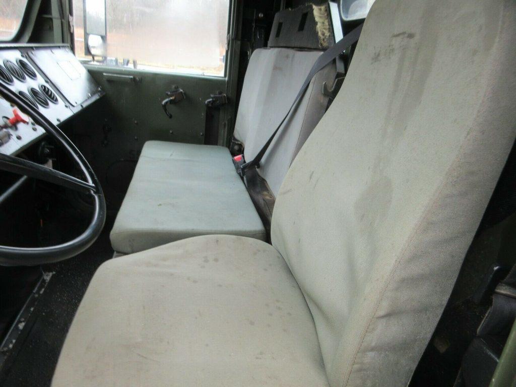 clean 2001 Oshkosh MK23 7 Ton Cargo Truck