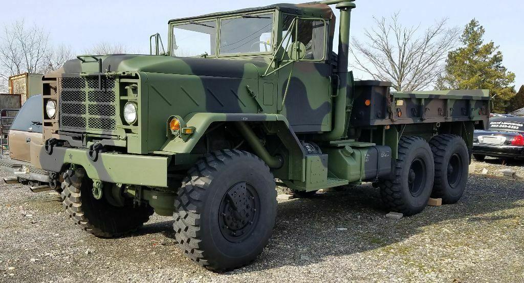 great shape 1991 BMY Harsco m923a2 truck