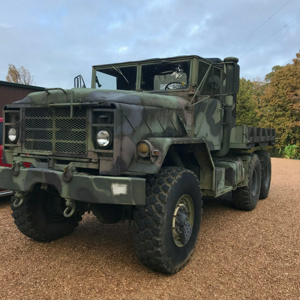low miles 1991 BMY M931a2 6X6 Military truck