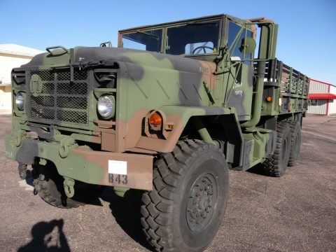 low miles 1992 BMY Harsco M923a2 truck for sale
