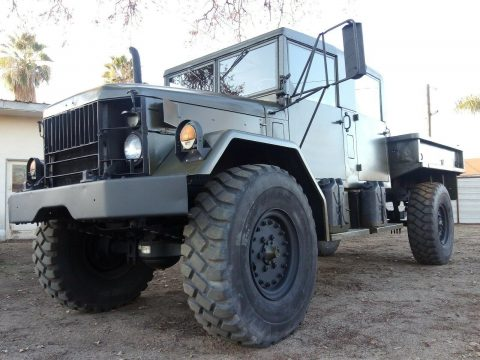 restored 1976 Jeep Kaiser M35a2 truck for sale