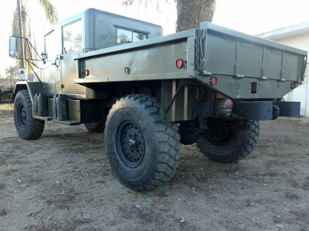 restored 1976 Jeep Kaiser M35a2 truck