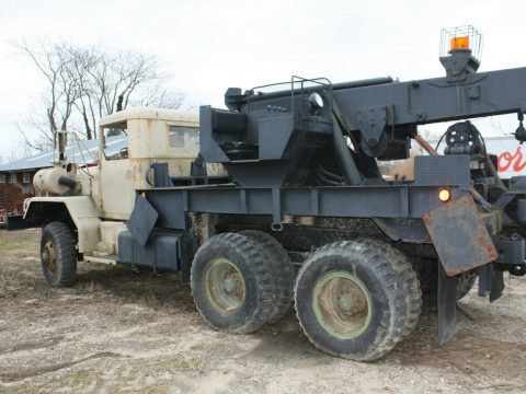strong 1971 AM General wrecker military truck for sale