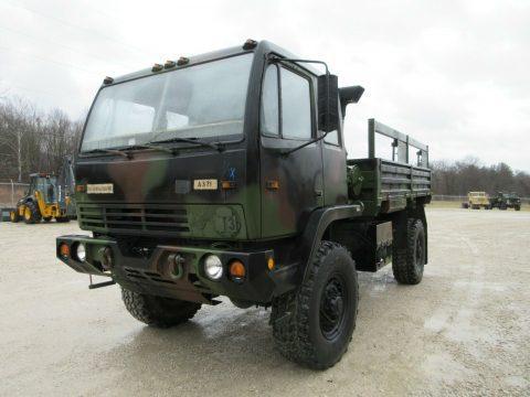 clean 1996 Stewart & Stevenson LMTV M1078 4×4 military truck for sale