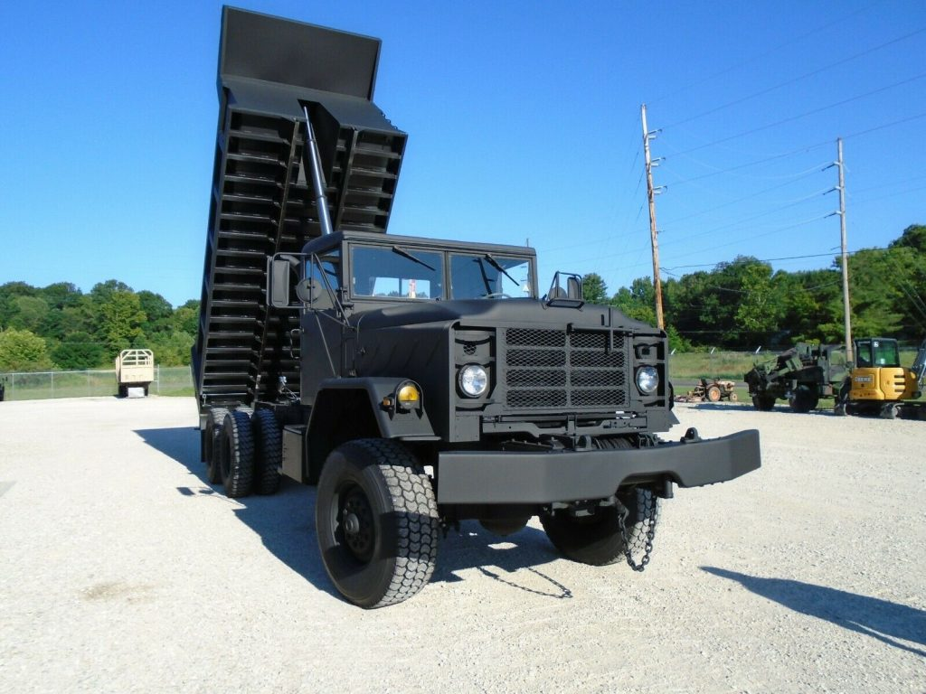 low miles 1986 AM General M942a1 dump Truck military truck