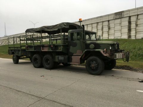 many add-ons 1969 AM General Deuce n Half military truck for sale