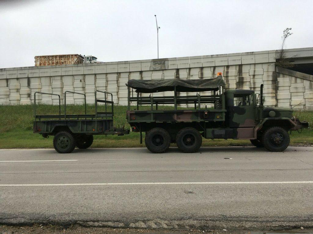 many add-ons 1969 AM General Deuce n Half military truck