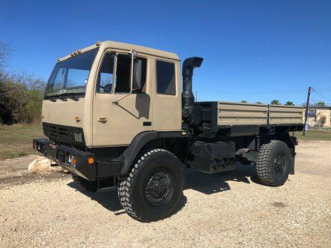 minor issues 1997 Stewart & Stevenson M1078 LMTV Military Truck for sale