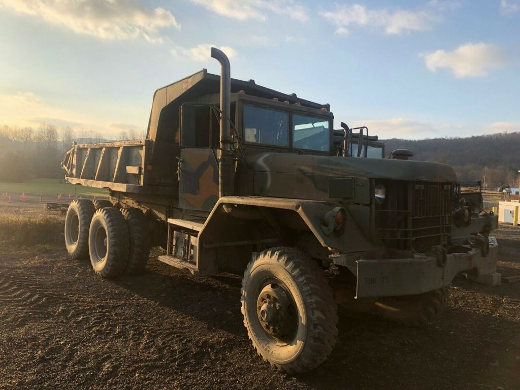 needs TLC 1959 AM General M118 5 TON 6X6 DUMP TRUCK