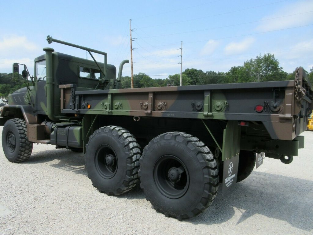 nice shape 1990 BMY M923a2 Cargo Military Truck