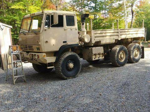 rare 1997 Stewart & Stevenson 6×6 cargo truck for sale