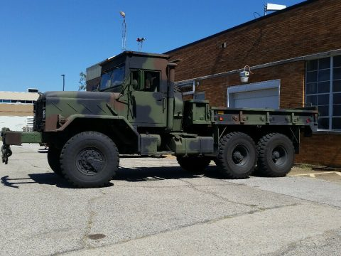 rare BMY M923a2 5 ton 6×6 miliitary truck for sale