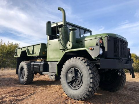 restored AM General M35a3 Bobbed Deuce Dump Truck for sale