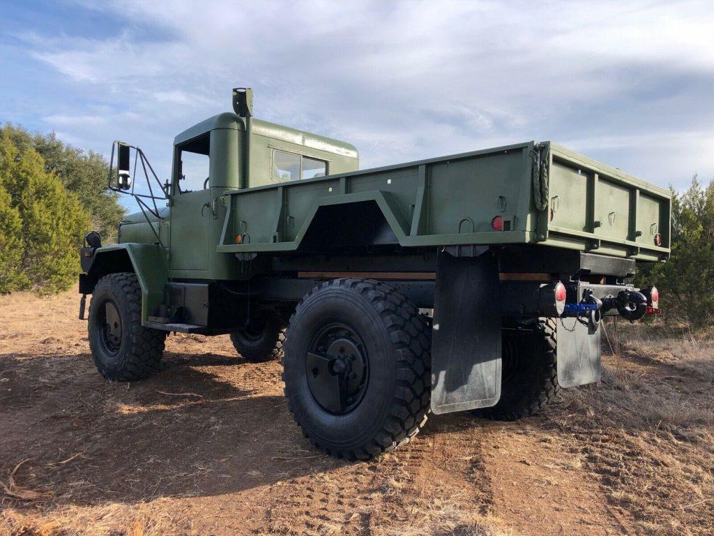 restored AM General M35a3 Bobbed Deuce Dump Truck