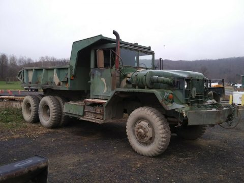 solid 1960 AM General M813 5 TON 6X6 military truck for sale