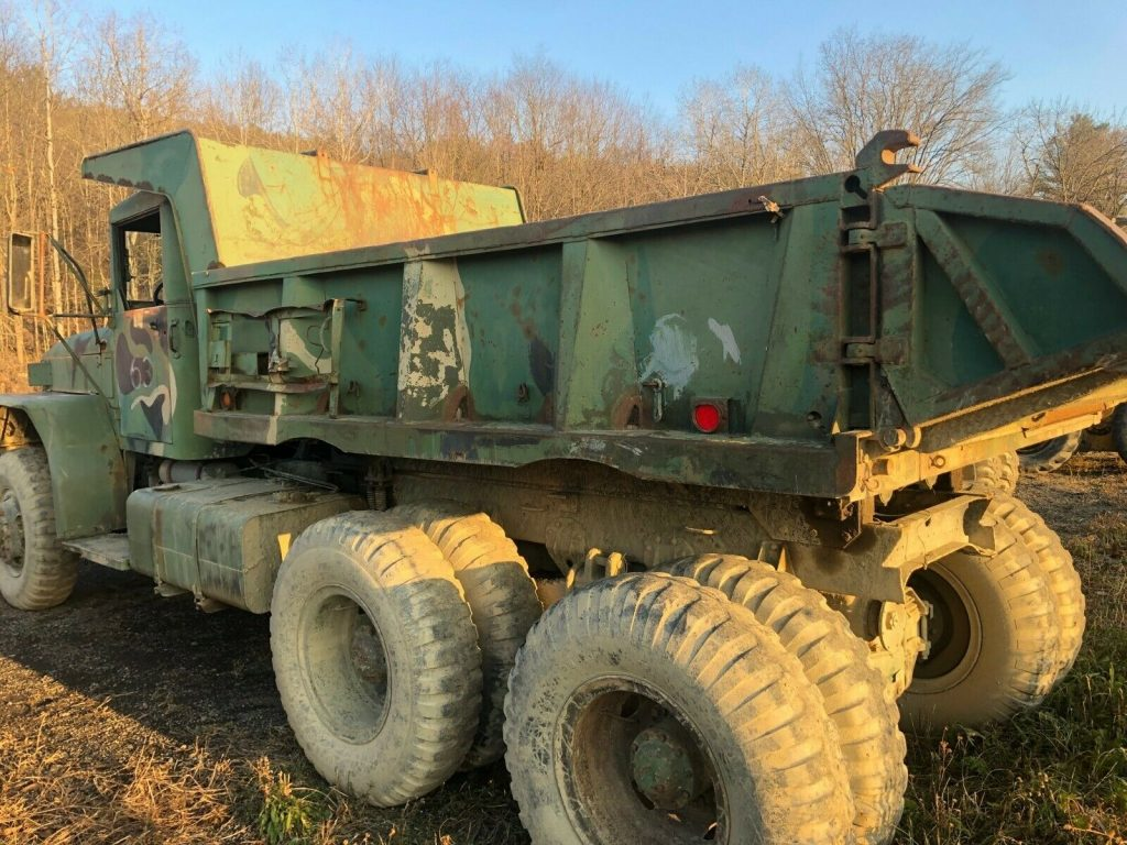 solid 1960 AM General M813 5 TON 6X6 military truck