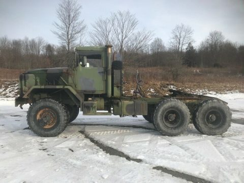 strong 1990 BMY 5 ton army truck for sale