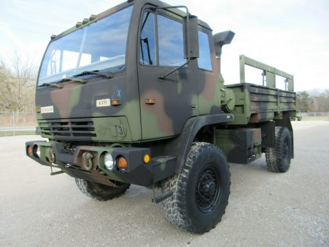 super clean 1996 Stewart & Stevenson M1078 4×4 truck for sale