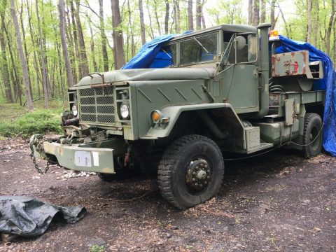 versatile 1984 AM General M936 Am General Wrecker Tow Truck for sale