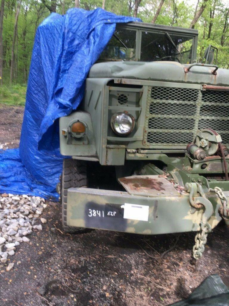 versatile 1984 AM General M936 Am General Wrecker Tow Truck