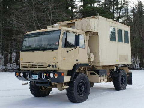 very low miles 1995 Stewart & Stevenson M1079 Camper/expeditionary Truck for sale