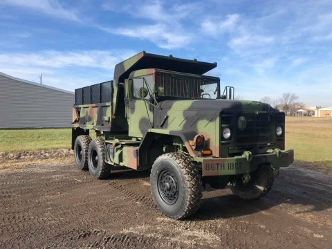 very nice 1990 BMY M929a2 Dump truck for sale