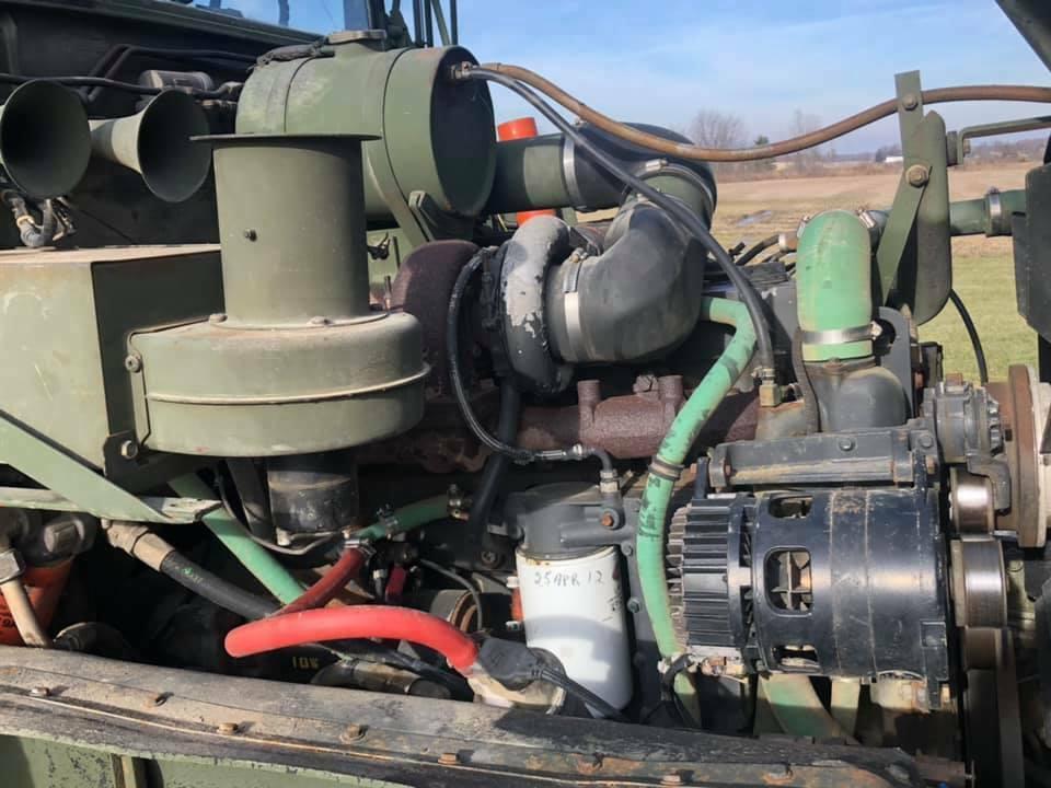 very nice 1990 BMY M929a2 Dump truck