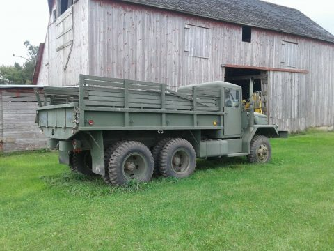 great running 1967 Kaiser 6×6 Deuce and a half truck for sale