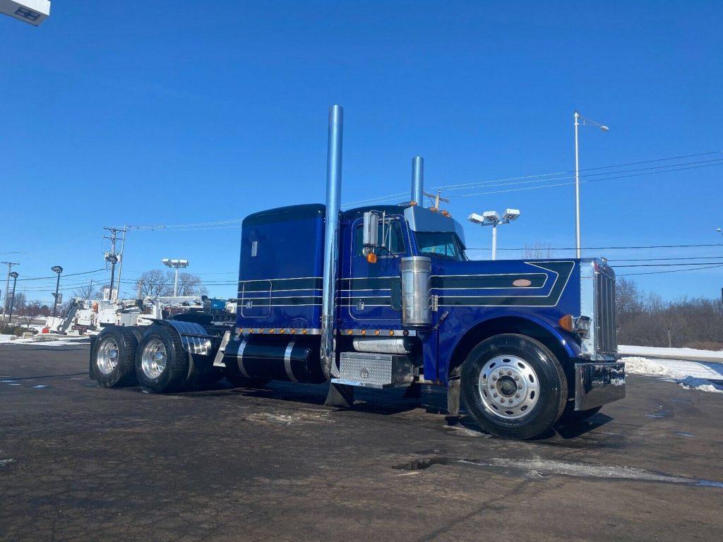 loaded 1997 Peterbilt 379 truck