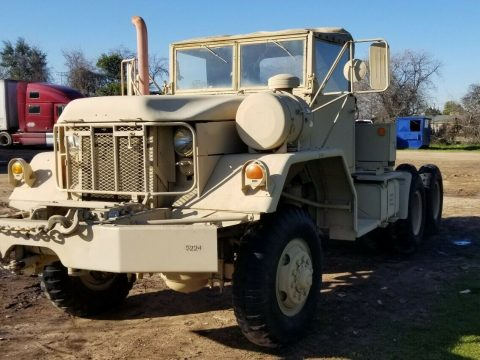 low miles 1970 Kaiser M818 military truck for sale