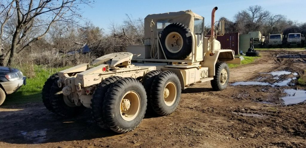 low miles 1970 Kaiser M818 military truck