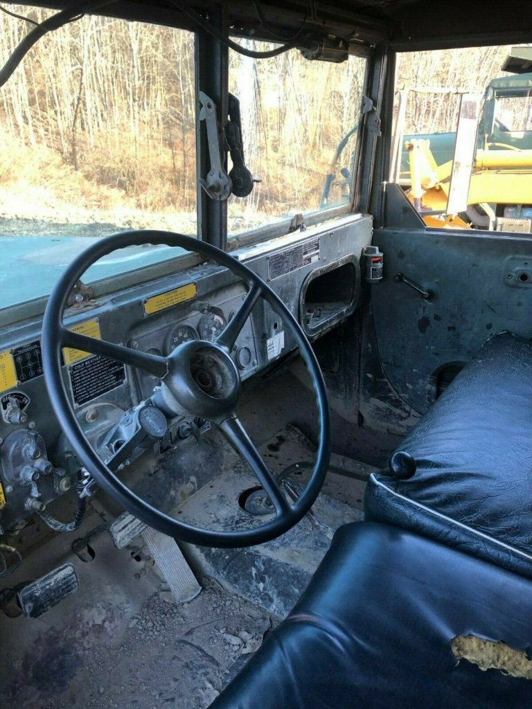 multi fuel 1960 AM General truck
