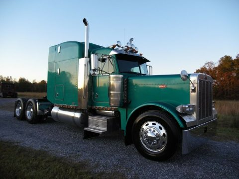 restored 2000 Peterbilt 379 new engine truck for sale