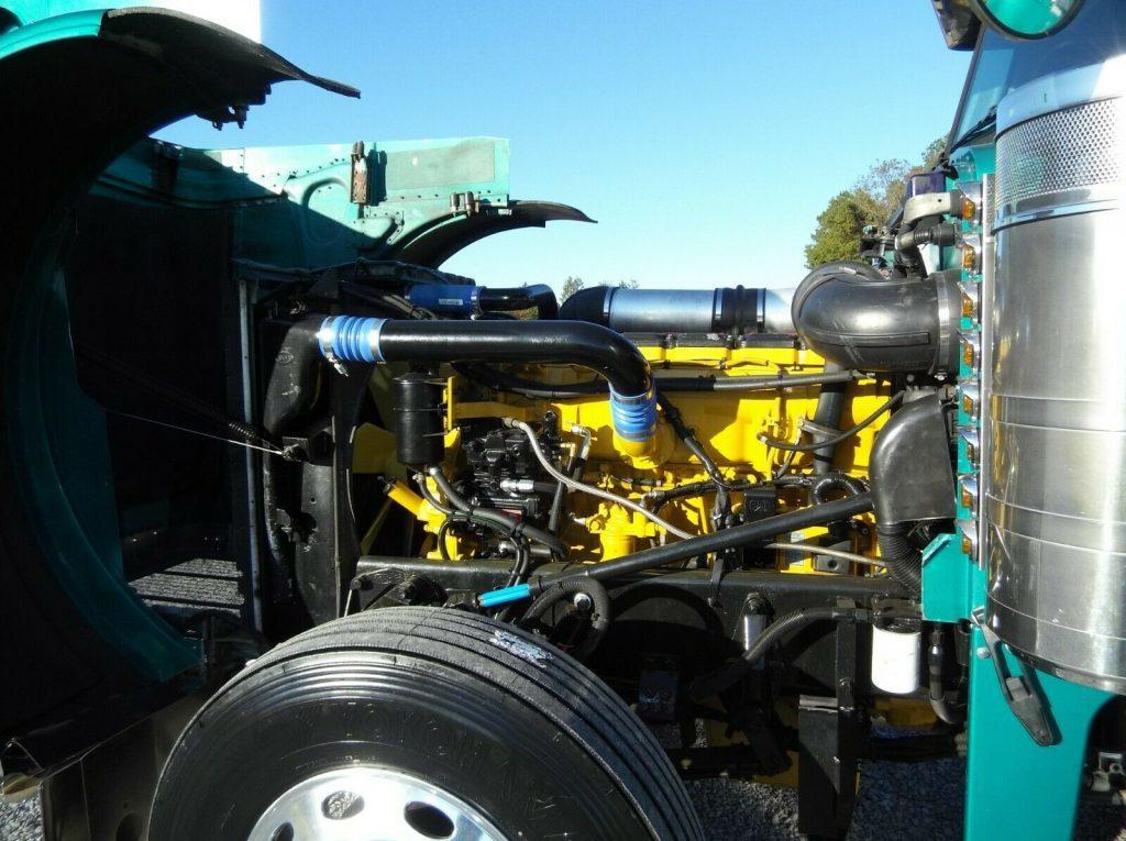 restored 2000 Peterbilt 379 new engine truck