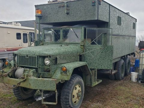 tons of extras 1968 Kaiser Military truck for sale