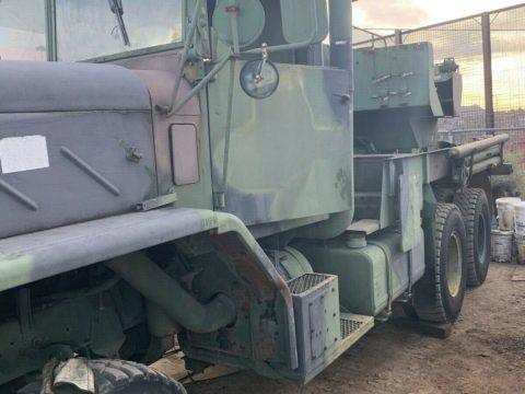 everything works 1984 AM General M936 6×6 Wrecker truck for sale