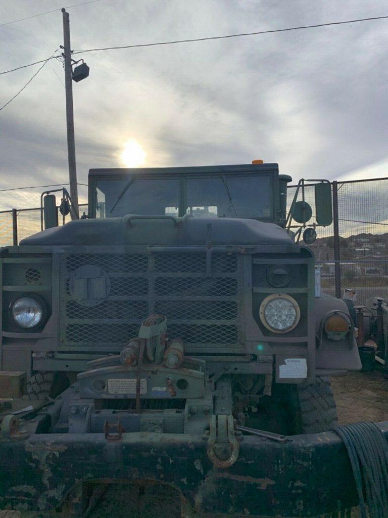 everything works 1984 AM General M936 6×6 Wrecker truck