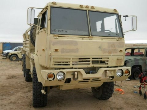 excellent shape 1998 Stewart & Stevenson M1093 MTV Air Drop 6X6 Cargo Truck for sale