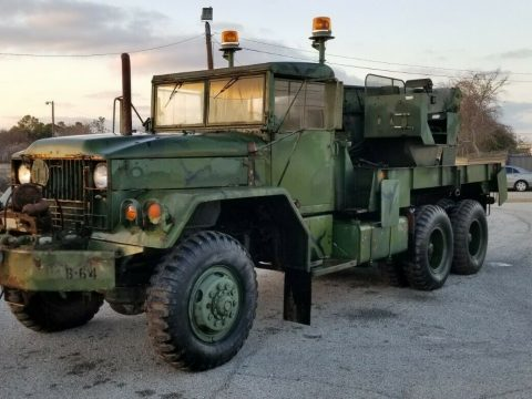 improved 1976 Kaiser Jeep M543a2 5 Ton Wrecker truck for sale